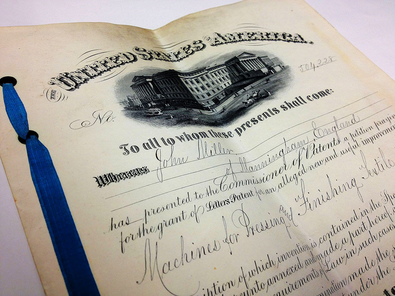 USA Patent application 1890